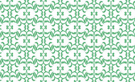 Geometric pattern. Modern stylish geometric floral green and white flower pattern for textile, wallpaper, pattern fills, covers, surface, print, gift wrap Stock Photos