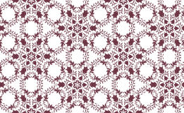 Geometric pattern. Modern stylish geometric floral rurple and white flower pattern for textile, wallpaper, pattern fills, covers, surface, print, gift wrap Stock Image
