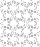 Geometric pattern. Modern stylish geometric floral seamless flower pattern for textile, wallpaper, pattern fills, covers, surface, print, gift wrap scrapbooking Stock Photos