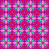 Kaleidoscope, seamless pattern, geometric, lilac, vector. royalty free stock images