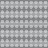 Geometric pattern with pearl grey circular shapes Royalty Free Stock Photo
