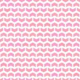 Geometric Seamless Pattern. Geometric pattern with pink arrows. Geometric modern ornament. Seamless abstract background Stock Illustration