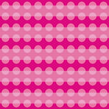 Geometric pattern with pink circular shapes Stock Photography