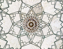 Geometric Pattern In The Red Fort Royalty Free Stock Photo