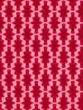 Patterned Ikat red Royalty Free Stock Images