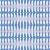 Geometric pattern of repeating shapes royalty free illustration