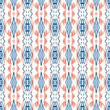 Geometric pattern with Scandinavian ethnic motifs Stock Photo