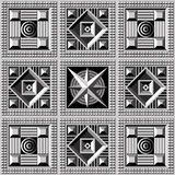 Geometric pattern 21 Stock Photography