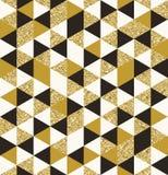 Geometric pattern seamless background Royalty Free Stock Photos