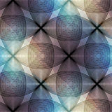 Geometric pattern. Stock Image