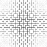 White polygon pattern on white background. Geometric pattern seamless background vector stock illustration