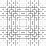 White polygon pattern on white background. Geometric pattern seamless background vector royalty free illustration