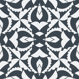 Geometric pattern. Seamless geometric pattern in black and white Stock Images
