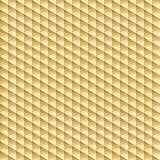 Geometric pattern - seamless gold texture. Geometric pattern - seamless gold 3d texture. Vector background Royalty Free Stock Photos