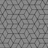 Geometric pattern - seamless graphic design Royalty Free Stock Image
