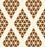 Geometric Pattern Seamless Royalty Free Stock Photography