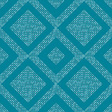 Geometric pattern. Seamless tile pattern with dots Royalty Free Stock Photography