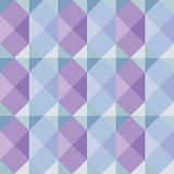 Geometric pattern in soft colors Stock Photos