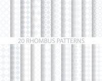 20 geometric pattern Royalty Free Stock Photography