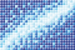 Geometric pattern of squares Royalty Free Stock Photography