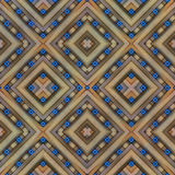 Geometric pattern, symmetrical Stock Photography