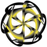 Geometric pattern symmetry Royalty Free Stock Photography