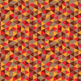 Geometric pattern. Texture with triangles.Mosaic. Abstract hand- Stock Photos