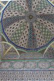 Geometric pattern, tiles in mosque, Fes, Morocco Stock Photography