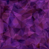 Geometric pattern, triangles background Stock Photos