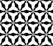 Geometric pattern with triangular lattice, rounded triangles. Royalty Free Stock Images