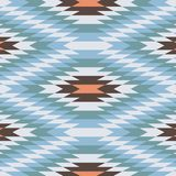 Geometric Pattern Vector Abstract Background. Geometric Pattern blue, orange and brown- Vector Abstract Background Royalty Free Stock Images