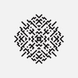 Geometric pattern, vector geometric element. EPS 10 Stock Photography