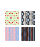 Geometric pattern vector Stock Images