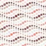 Geometric Pattern Vertical Wavy Stripes Repeating Texture With Curvature Eff Royalty Free Stock Photo