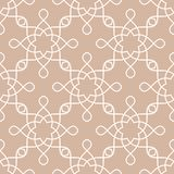 Geometric pattern for wallpapers. Beige seamless background Stock Photo