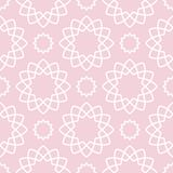 Geometric pattern for wallpapers. Pale pink seamless background Royalty Free Stock Photo