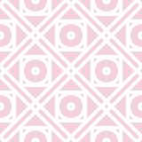 Geometric pattern for wallpapers. Pale pink seamless background Stock Image