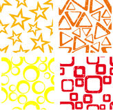 Geometric patterns Royalty Free Stock Photography