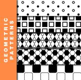 Geometric Patterns Royalty Free Stock Images