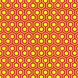 Geometric patterns Honeycomb Stock Photography