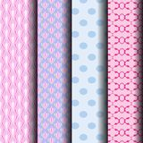 Geometric patterns in pastel. Background that can be used endlessly Stock Photo
