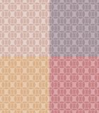 Geometric patterns set Royalty Free Stock Photo