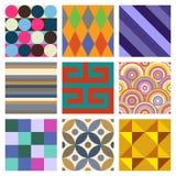 Geometric Patterns Set 4 Stock Photo