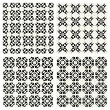 Geometric Patterns SET Stock Photo