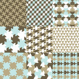 Geometric patterns Stock Photography