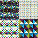 Geometric patterns Stock Images