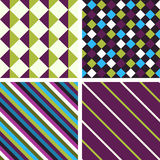Geometric patterns Royalty Free Stock Photography