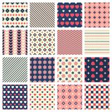Geometric patterns Royalty Free Stock Photos