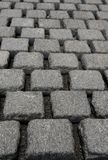Geometric pavement Royalty Free Stock Photo