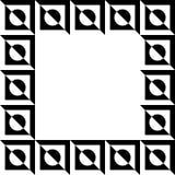Geometric picture, photo frame in squarish format. stock illustration
